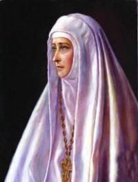 Икона Преподобной Мученицы Великой Княгини Елисаветы